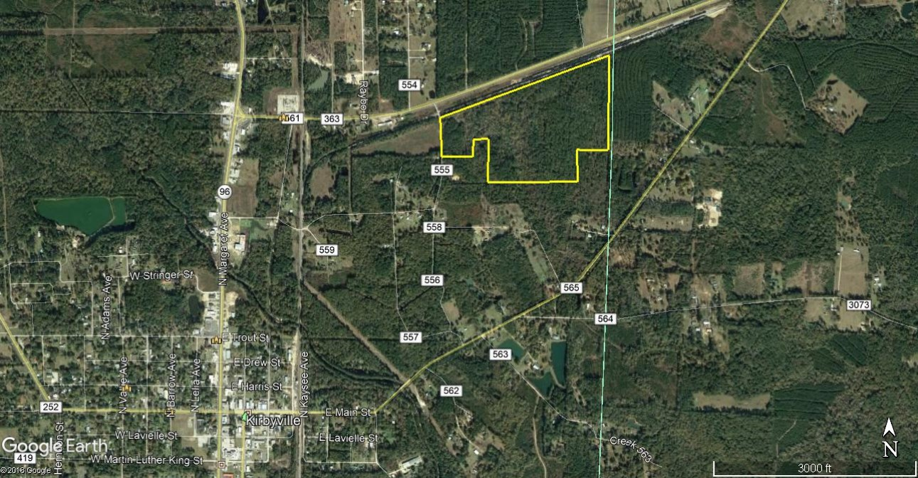 65 ACRES HEAVILY WOODED LAND IN KIRBYVILLE TEXAS FOR SALE