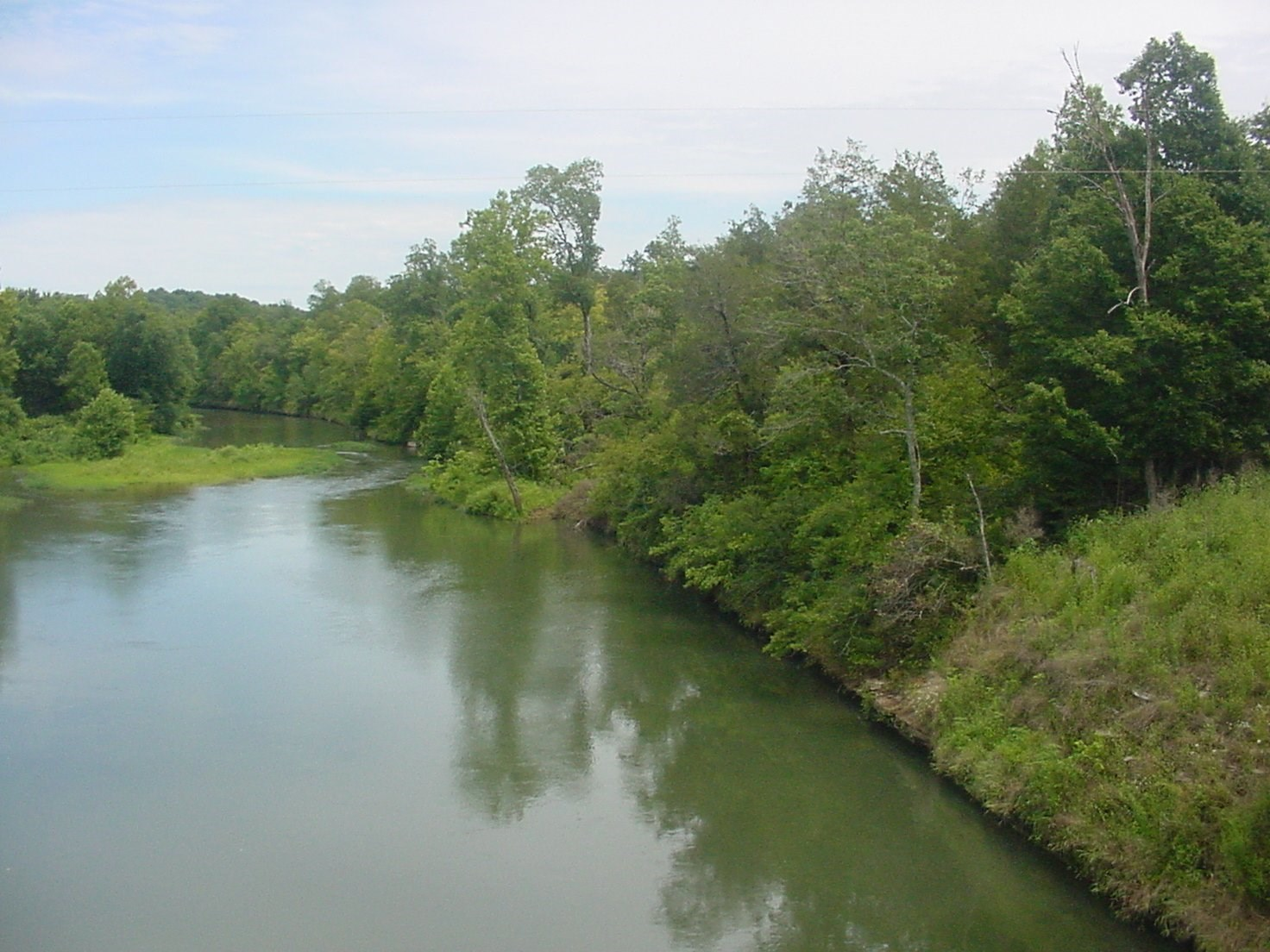 For Sale Tn Buffalo River Front Land 52 Acre County Road
