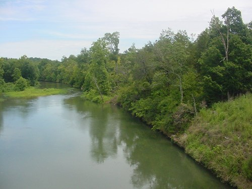 For Sale TN Buffalo River Front Land 55.45 Acre County Road