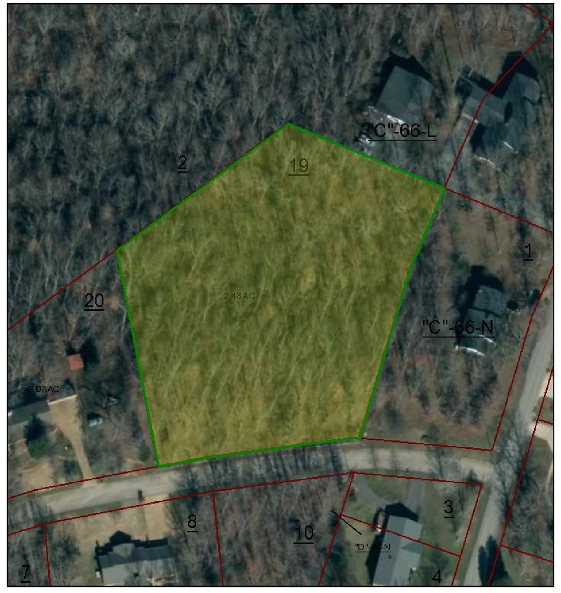 Hurricane Hills Waynesboro Tennessee Land For Sale 2.4 Acres