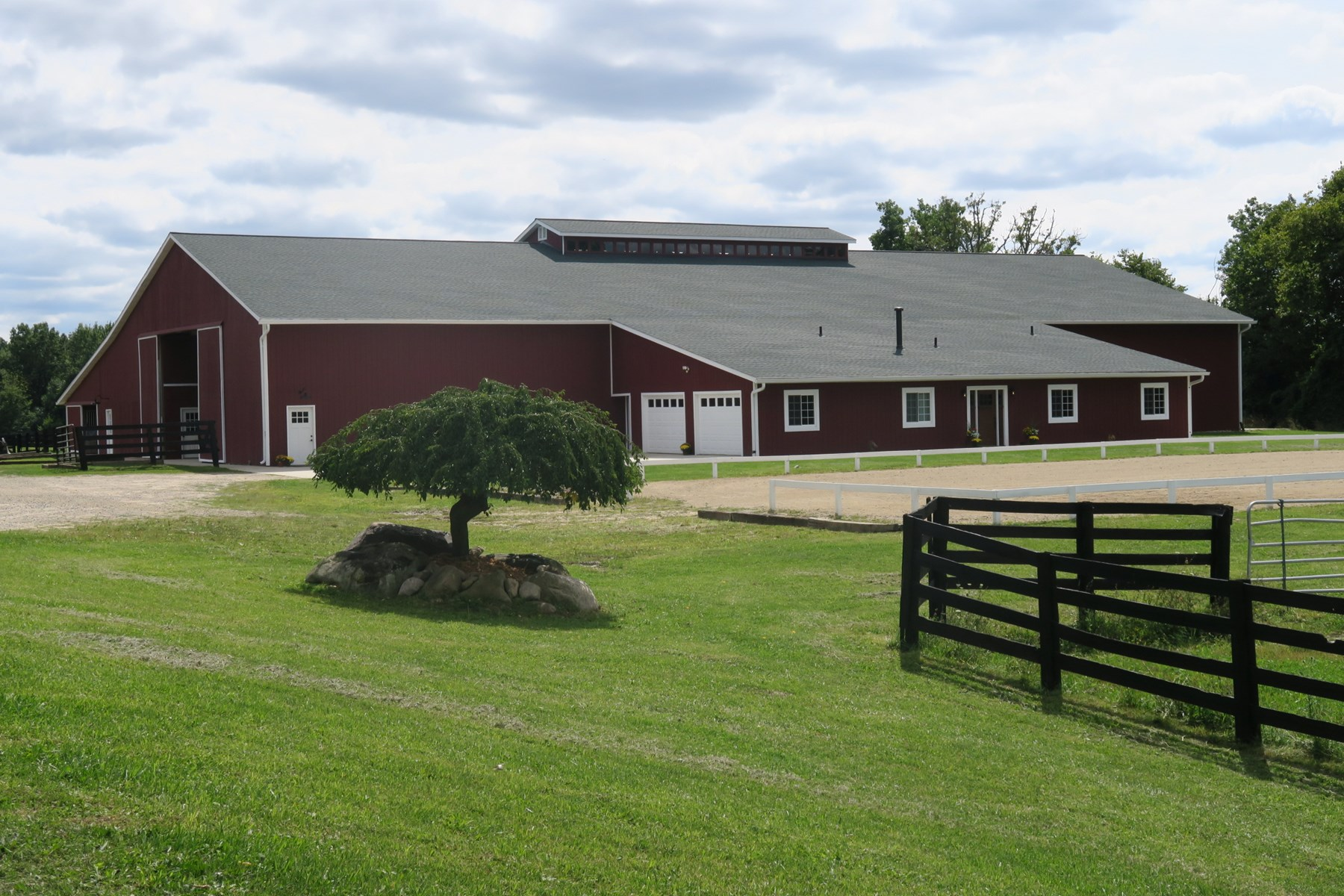 Turn-Key Equestrian Facility For Sale in Lapeer County, MI