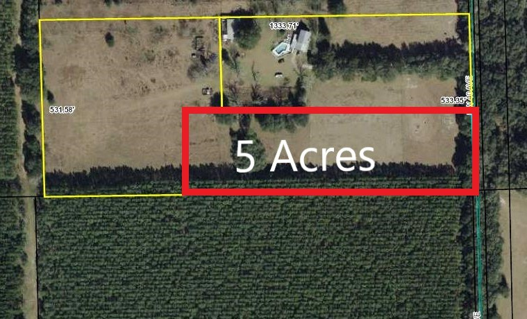 LAND FOR SALE 5 ACRES BELL, GILCHRIST CO, FLORIDA