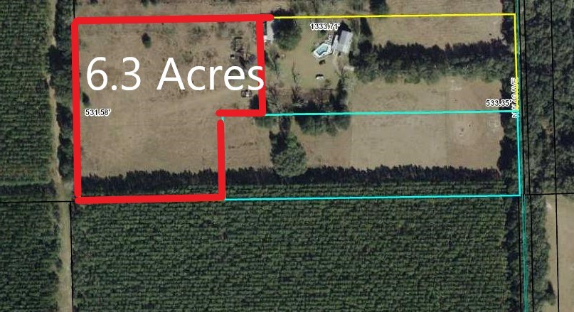 LAND FOR SALE - 6.3 Acres Bell, Gilchrist County, Florida
