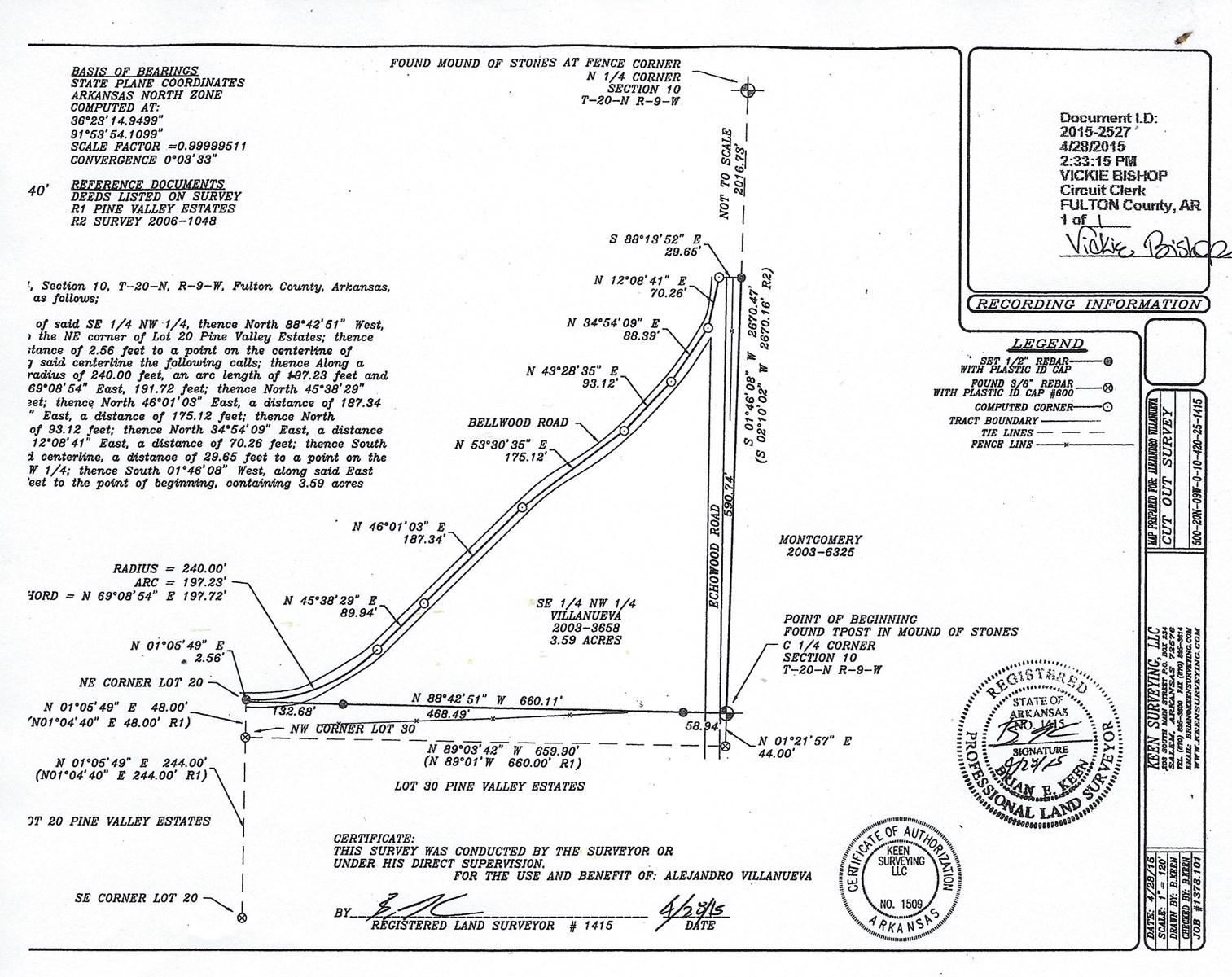 Vacant Land for sale Viola Arkansas