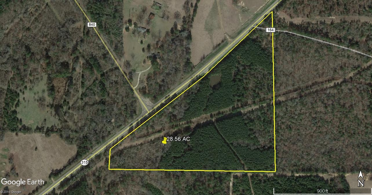 28.56 ACRES TIMBER/RECREATION/HUNTING LAND FOR SALE RUSK CO.