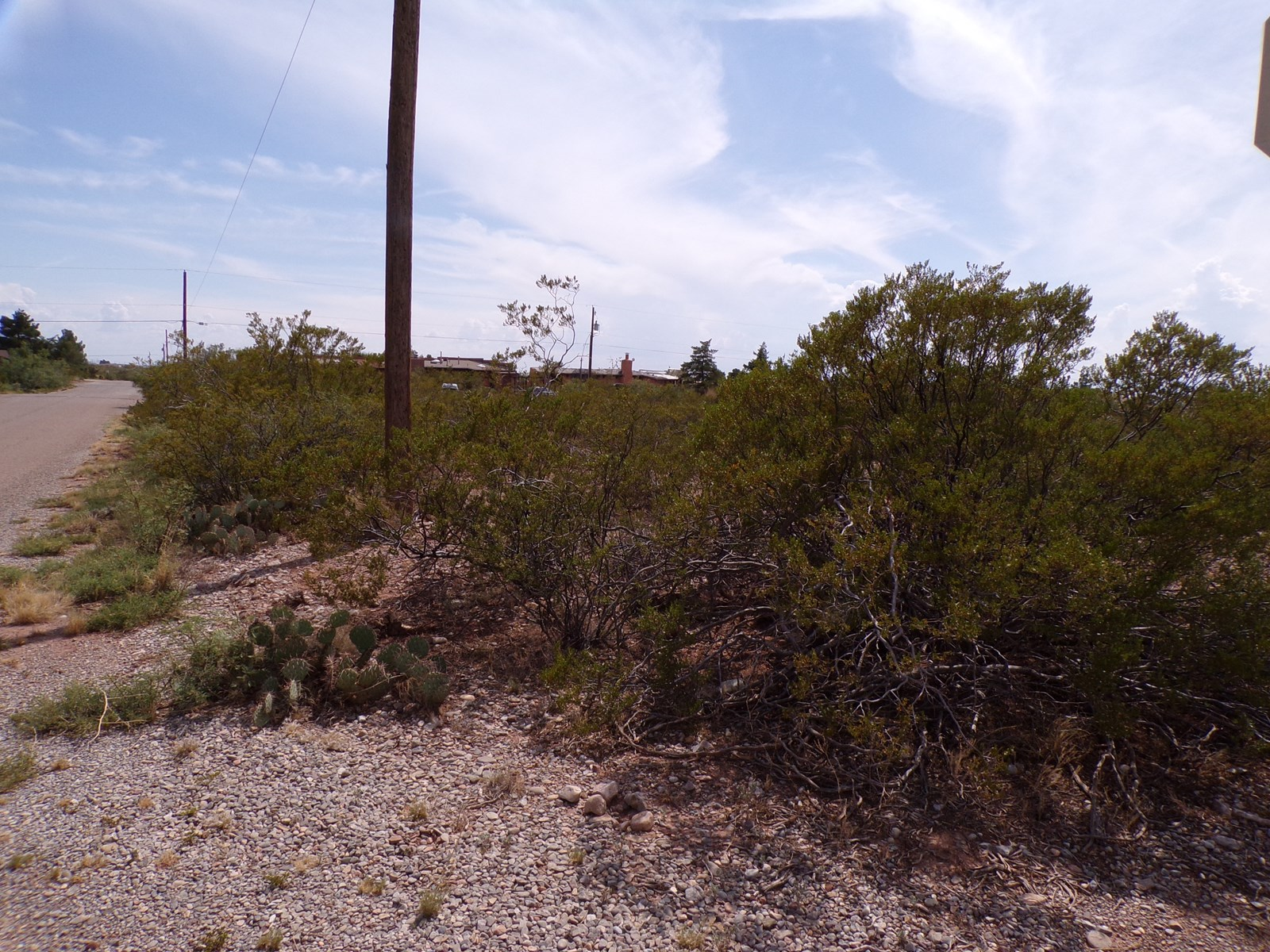 0.485 Acre Lot for Sale in La Luz, NM, Utilities at line