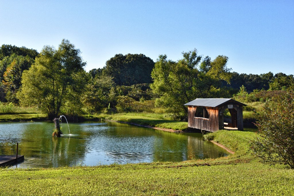 Crockett Co. TN Retreat for sale Ponds, Log Barn & Cabin