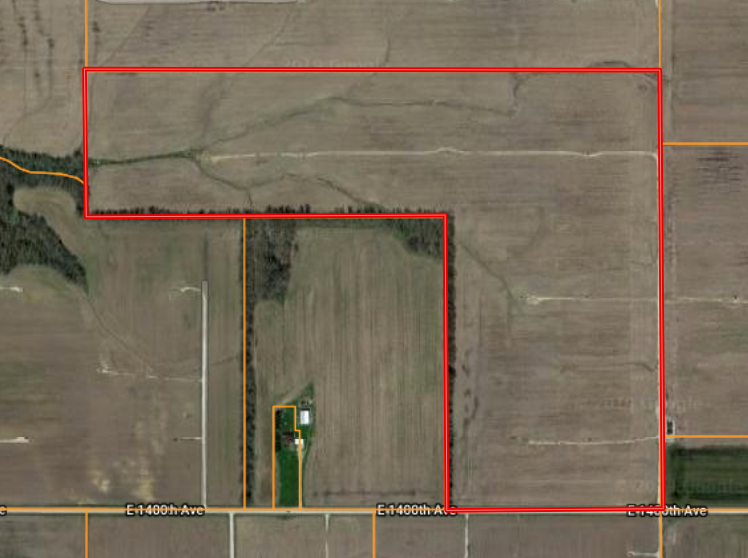 70 Acres Farm Ground Tract 2
