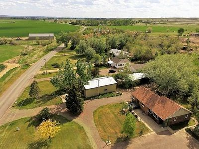 Home For Sale with Acreage and Shop in Glendive, MT