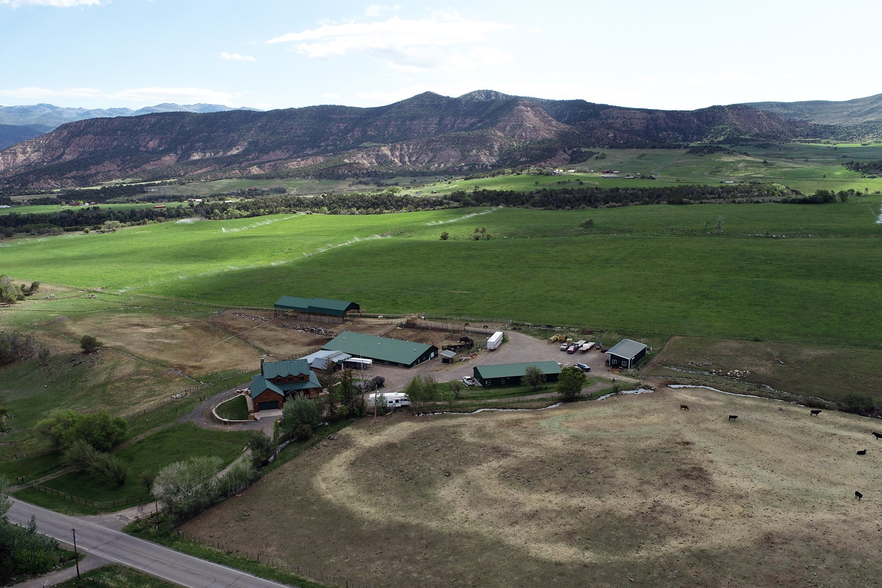 Colorado Cattle and Horse Ranch with Hay Ground for Sale