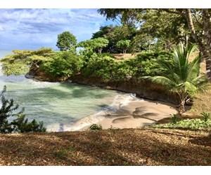 Coastal  Sand Beachfront in Bocas del Toro Panama