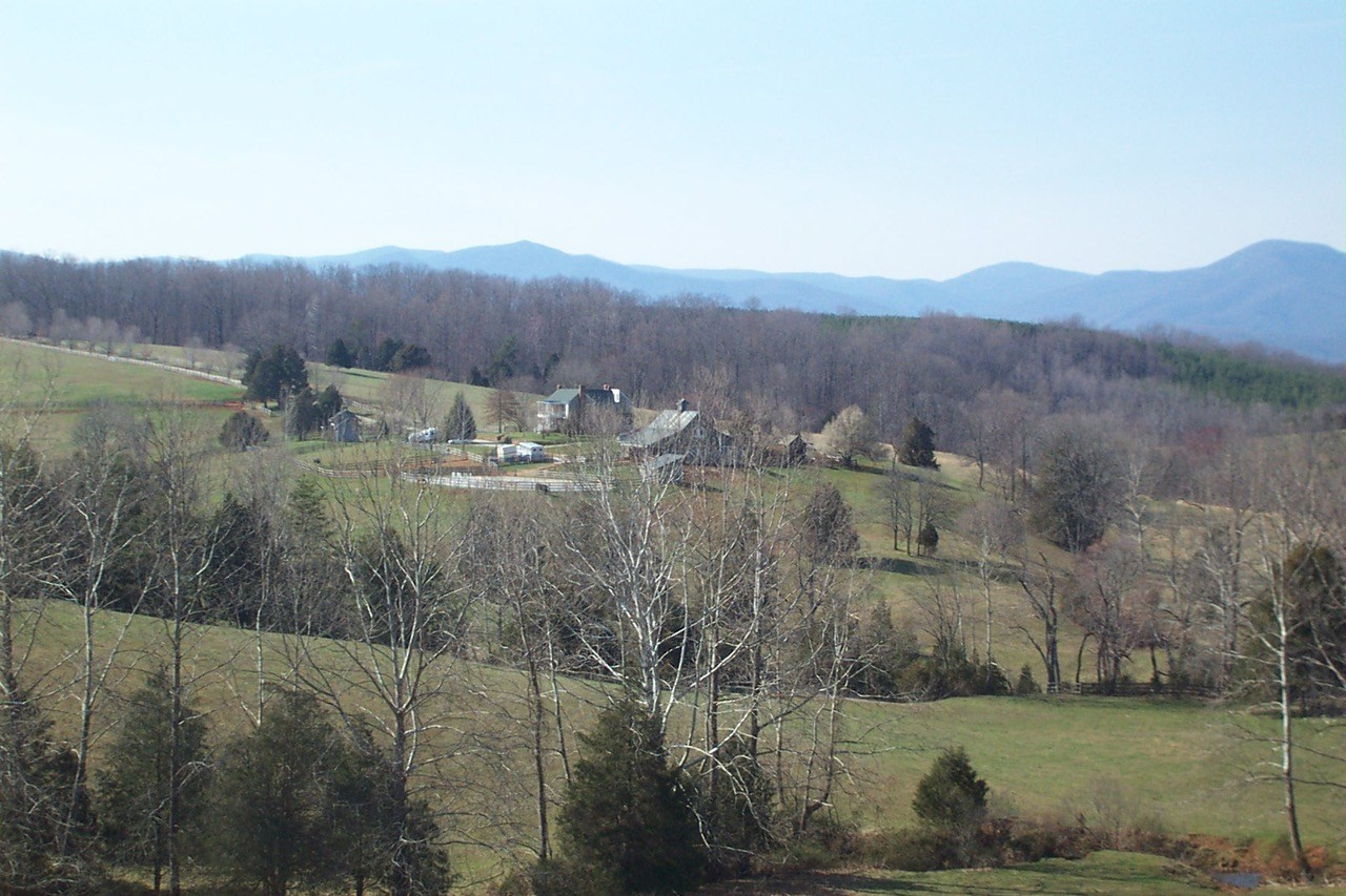 """173+ ACRE FARM WITH RIVER FRONTAGE in Amherst, VA"