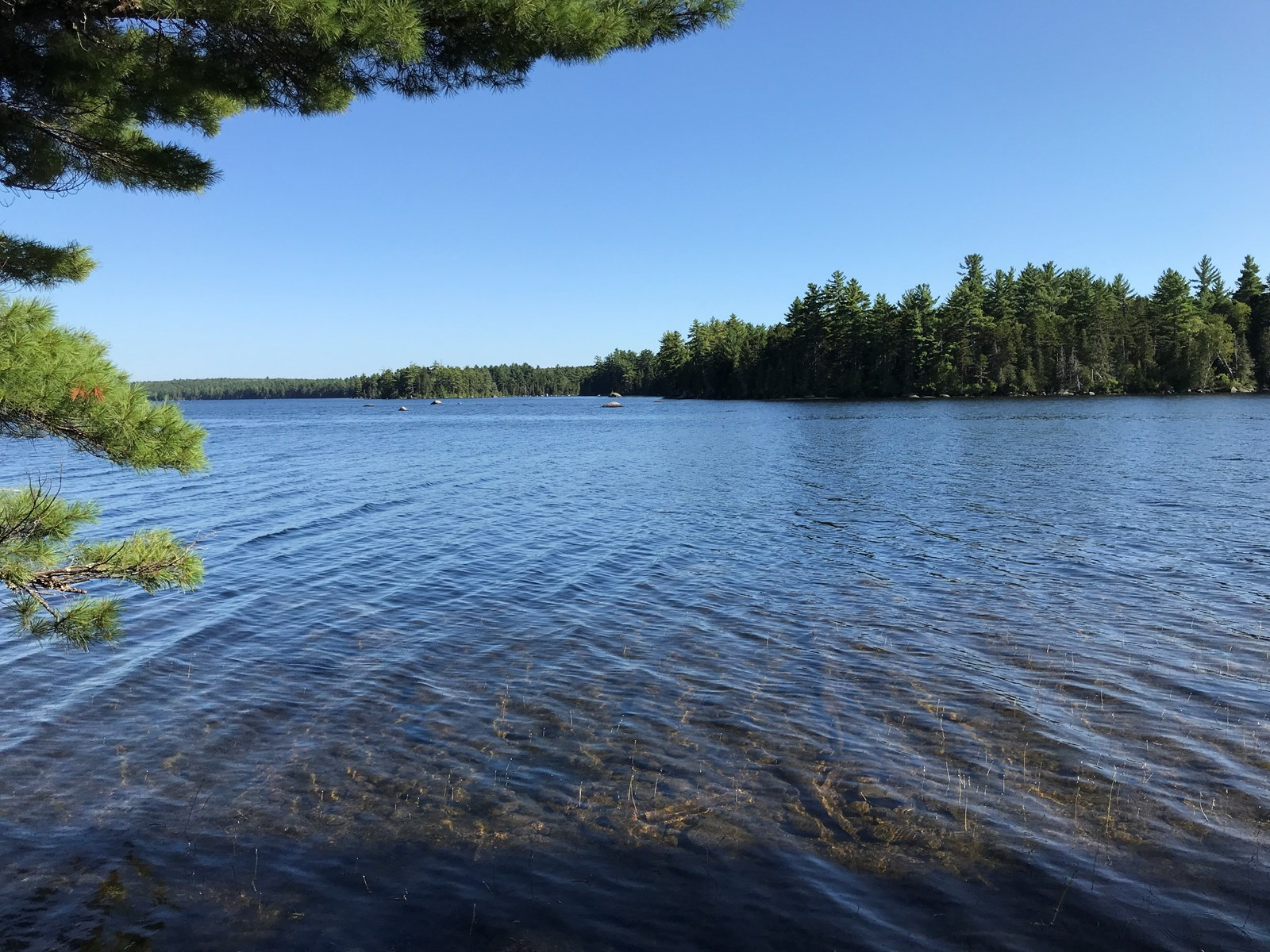 Large Lakefront Lot For Sale in Maine