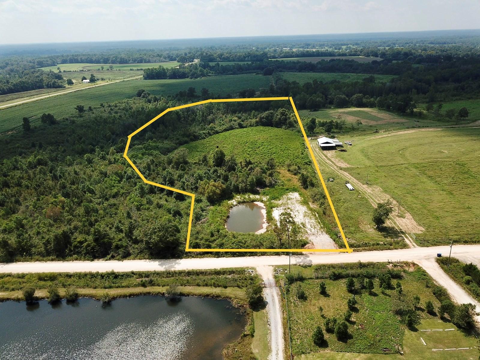 9 Acres Covington County Alabama Land w/ Pond - Homesite