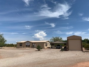 FIVE ACRES WITH HOME AND RV STORAGE