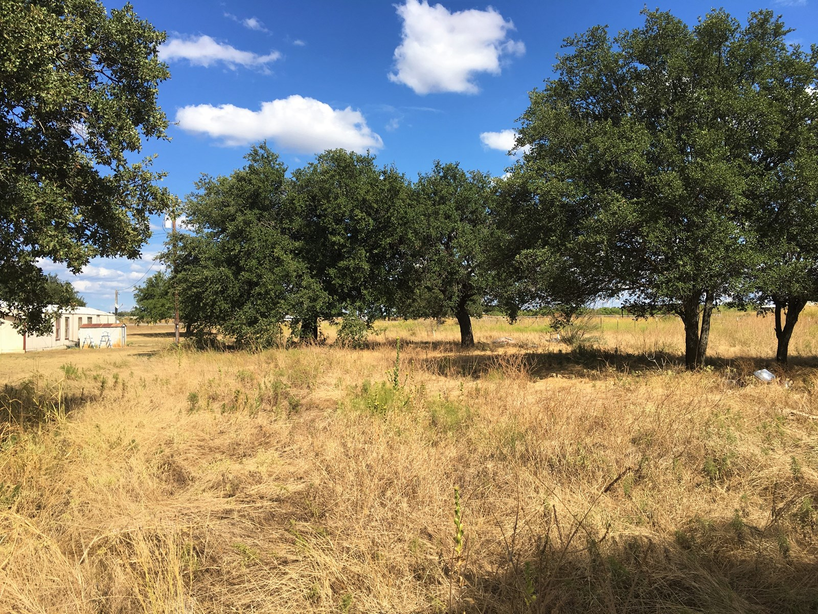 Small Acreage with Utilities in Brown County Texas