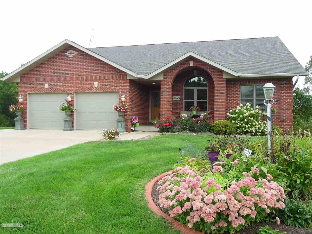 Brick Ranch Home in Galena