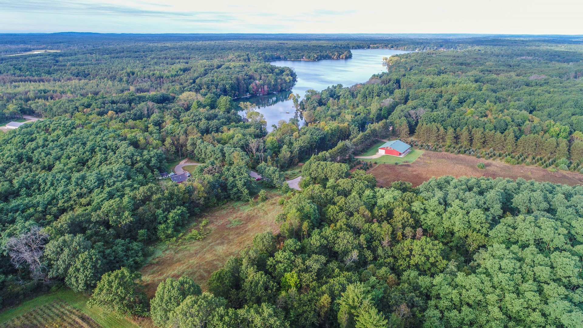 For Sale Vacant Land Near Long Lake in Waushara County, WI