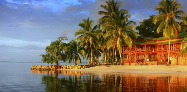Titled Beachfront Luxury Home Bocas del Toro Panama
