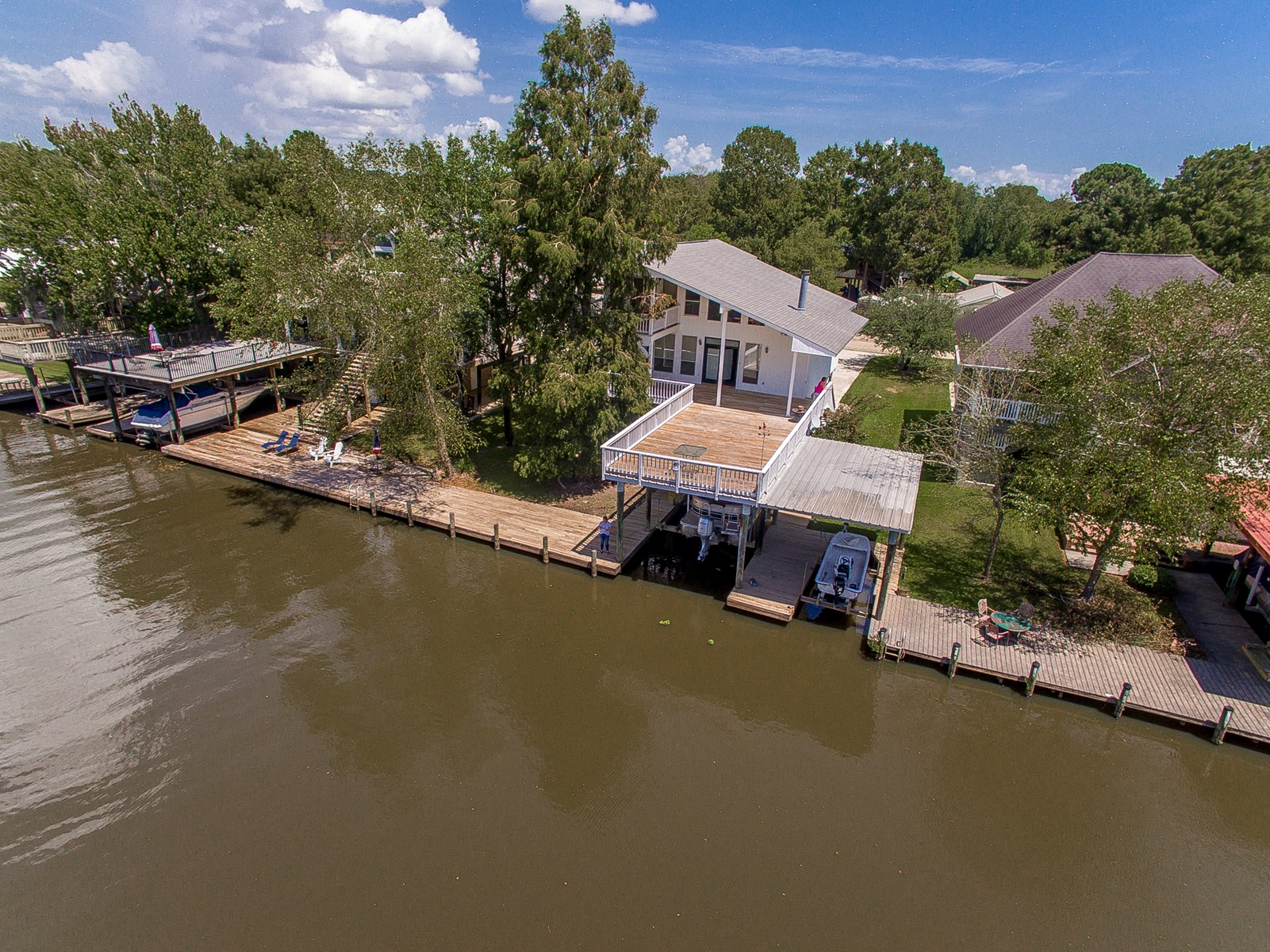 Waterfront Home on Tickfaw River in Springfield, Louisiana