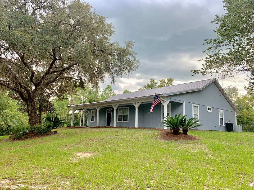 RANCH STYLE HOME FOR SALE- TRENTON,GILCHRIST COUNTY, FLORIDA