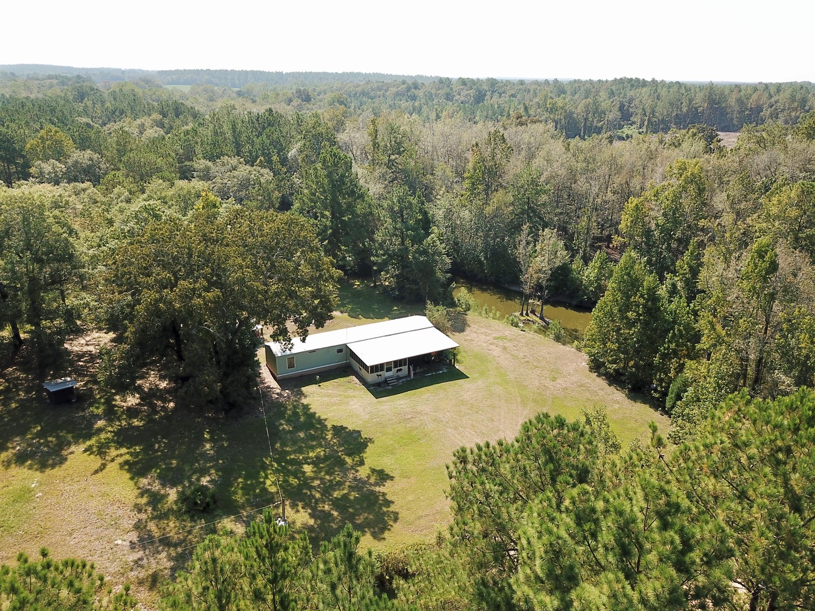 Secluded 20 Acres and Home - Holmes County Florida Getaway