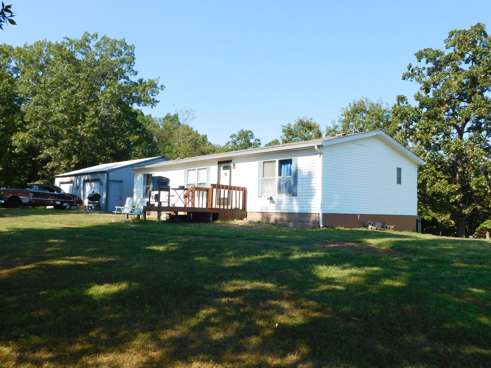 Home for Sale with Acres in South Central Missouri Ozarks