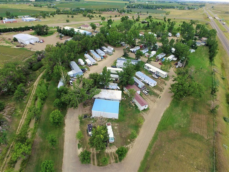 Mobile home park for sale in Glendive, MT