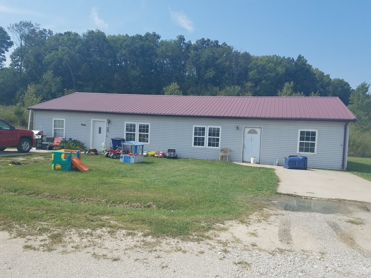 2 Duplex Buildings & 17 Acres For Sale in Milan, MO