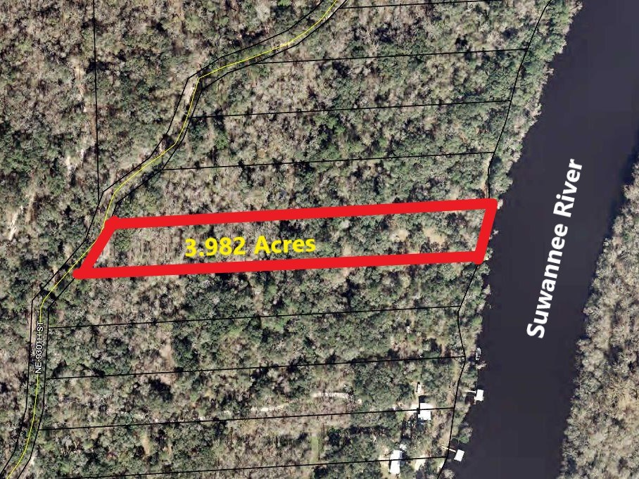 SUWANNEE RIVER WATER FRONT PROPERTY - OLD TOWN, FLORIDA