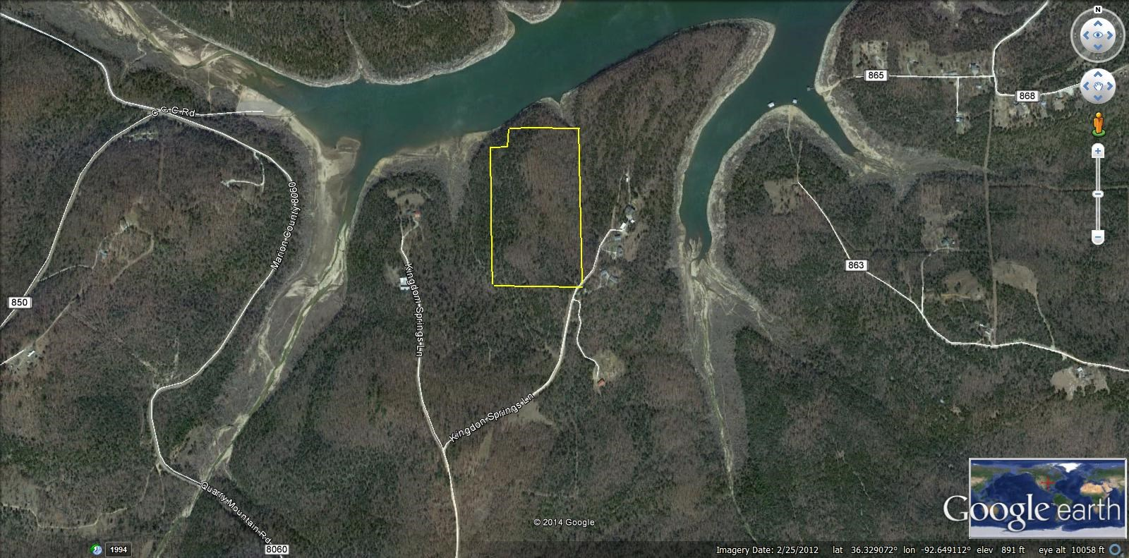 BULL SHOALS LAKE CORP FRONTAGE FOR SALE