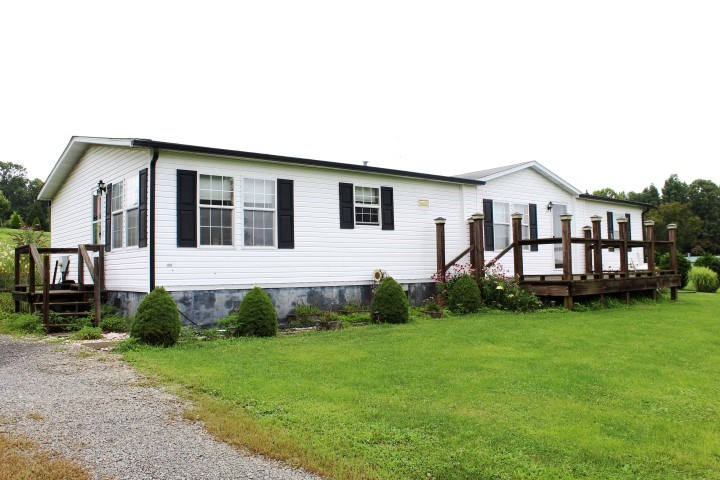 DOUBLE WIDE FOR SELL IN GRAYSON COUNTY, VIRGINIA
