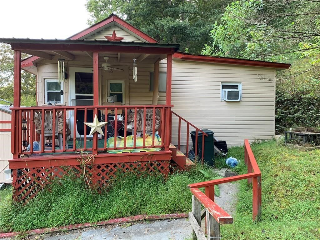 Bungalow overlooking North Fork of the Hughes River in WV