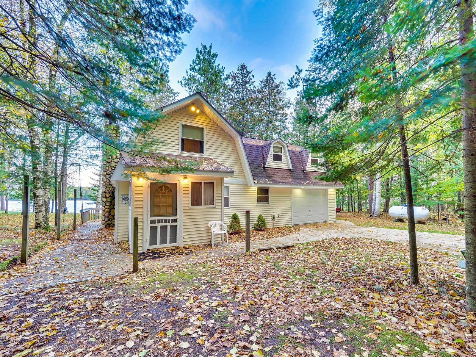 Lakefront Home for Sale Rainy Lake Millersburg MI