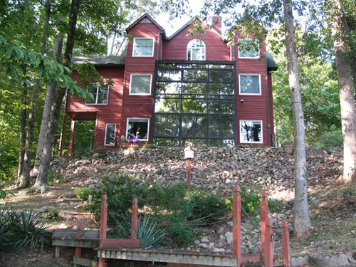 RIVER FRONT HOME FOR SALE IN TN ON TN RIVER, WATERFRONT VIEW