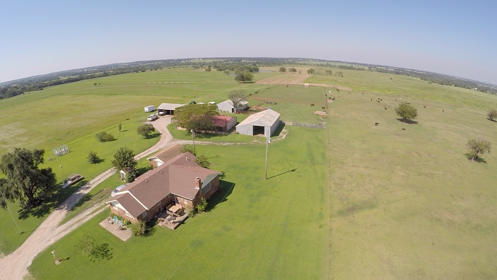 No Reserve Auction, Cushing OK, Home on 159 Ac +/- Sat, Oct 12 @ 12:30