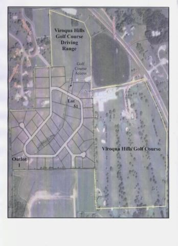 Lot #51 .458 Acres Golf Course Access For Sale