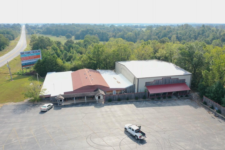 Large Commercial Building with Acreage West Plains MO