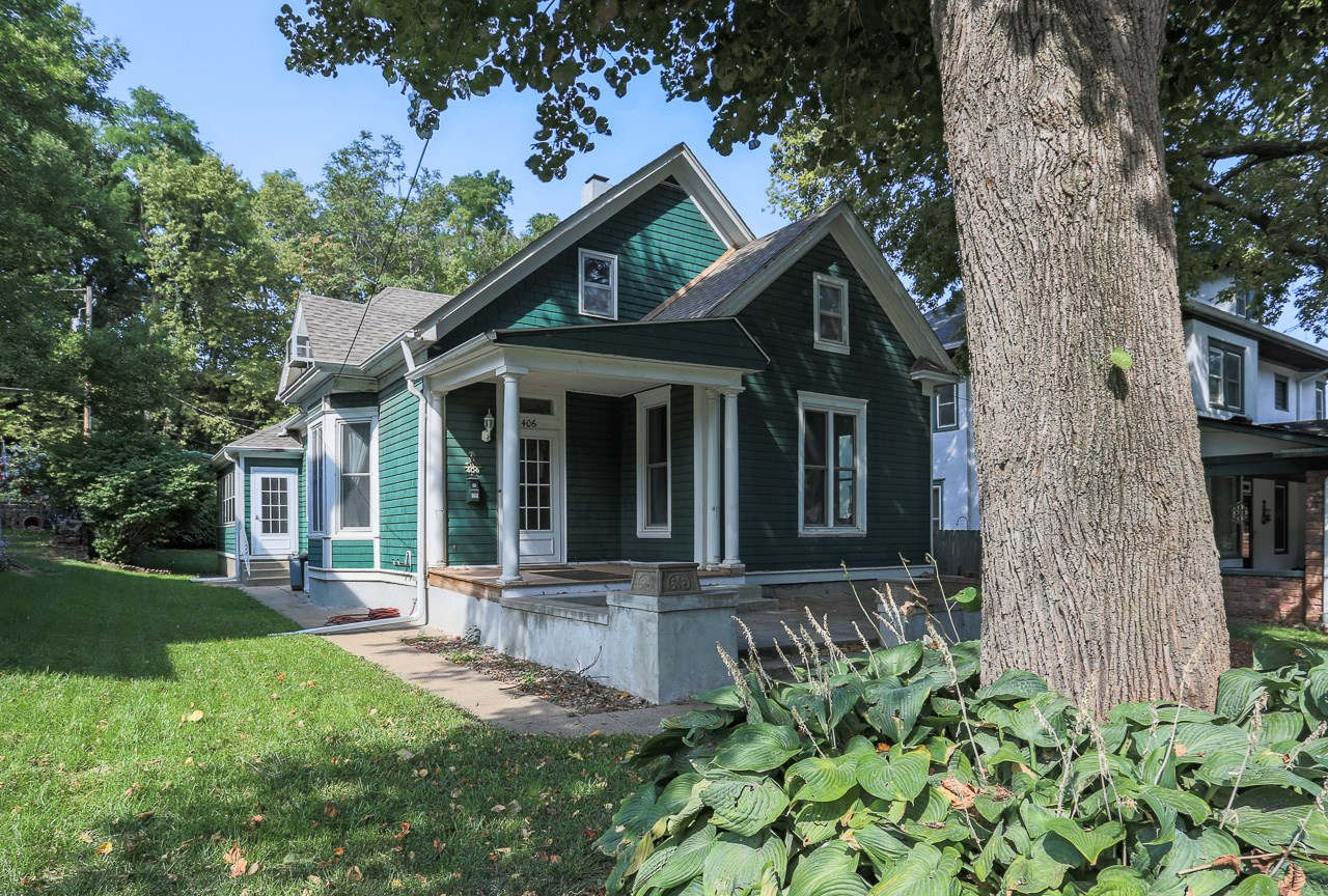 Home for sale in historical district of council bluffs, IA