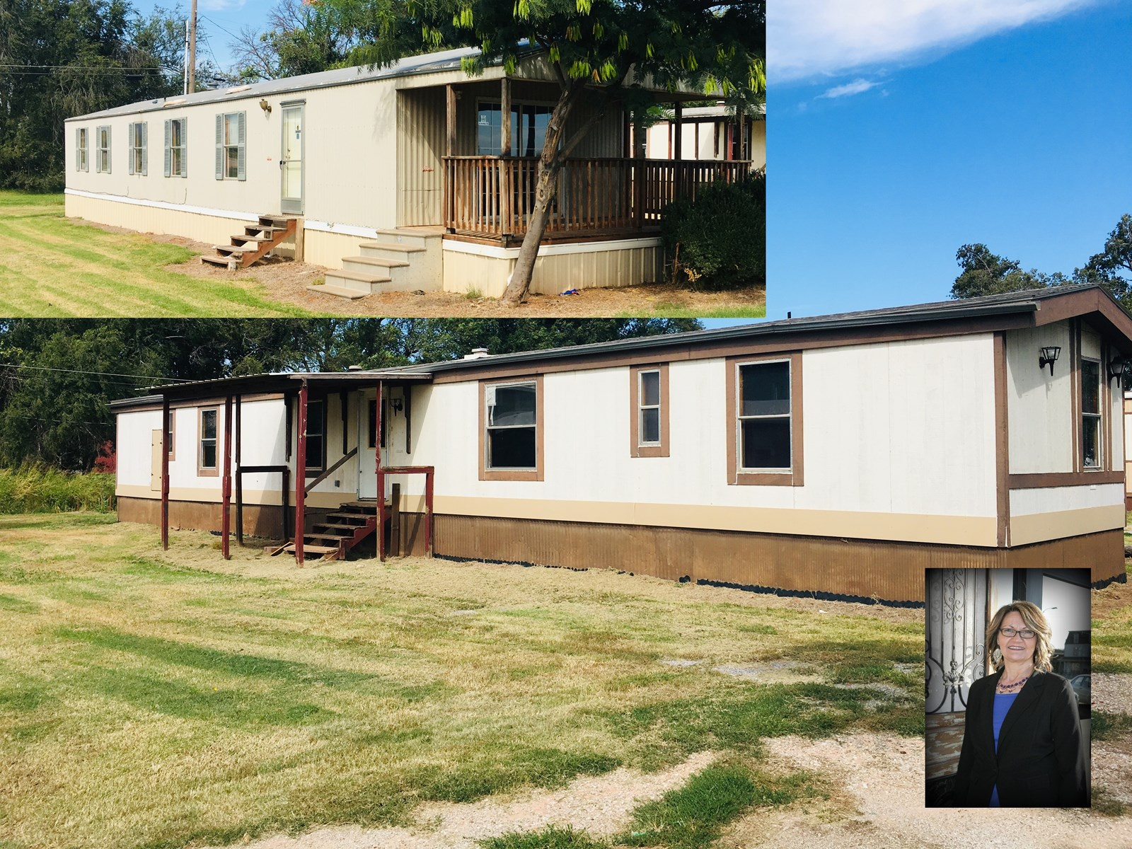 Investment is Calling! 2 Mobile Homes for 1 Price!