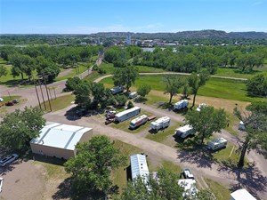 23 UNIT RV AND MOBILE HOME PARK WITH SHOP ON CITY SERVICES