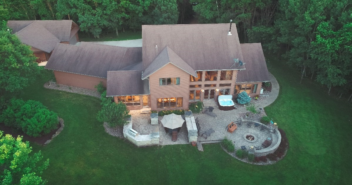 Luxury Estate on 40 Acres in Adams County WI