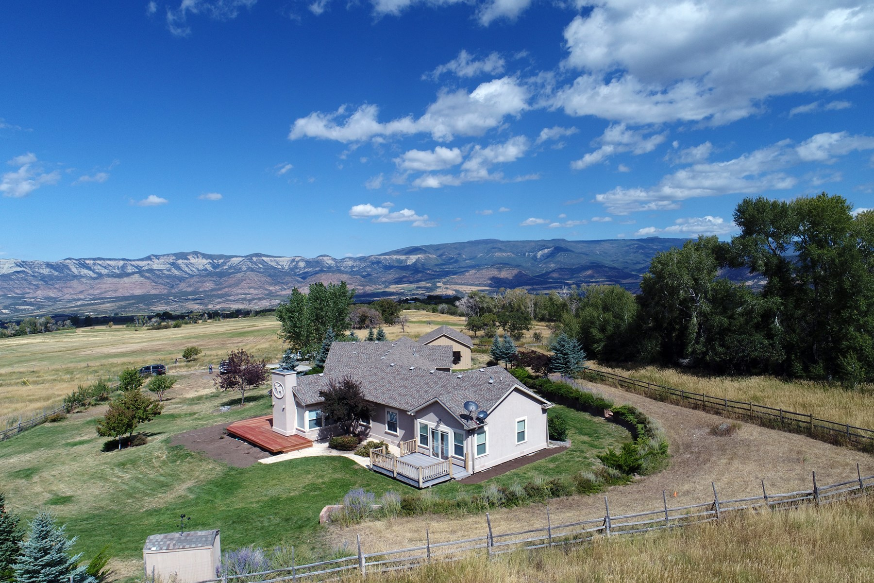 Home, Irrigated Acreage and Shop for Sale in Colorado