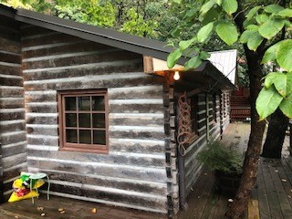 Log Home Located on Spavinaw Creek in Northeast Oklahoma