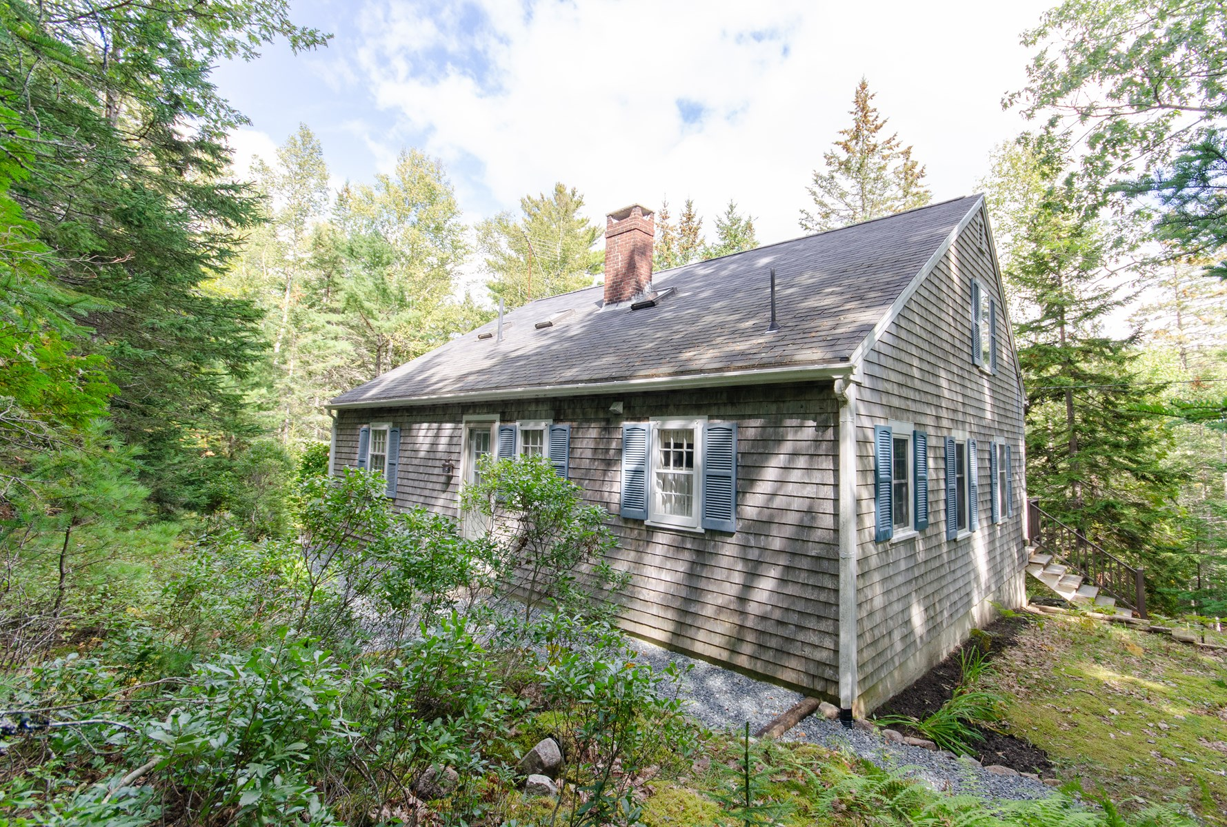 Saltwater Pond Home For Sale in Maine