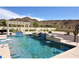Desert Mountain Luxury Home For Sale Casa Grande AZ pool spa