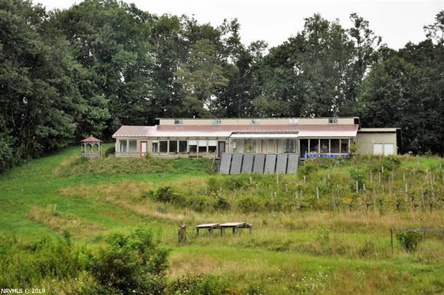 Passive Solar Home, Orchard & Vineyard for Sale in VA