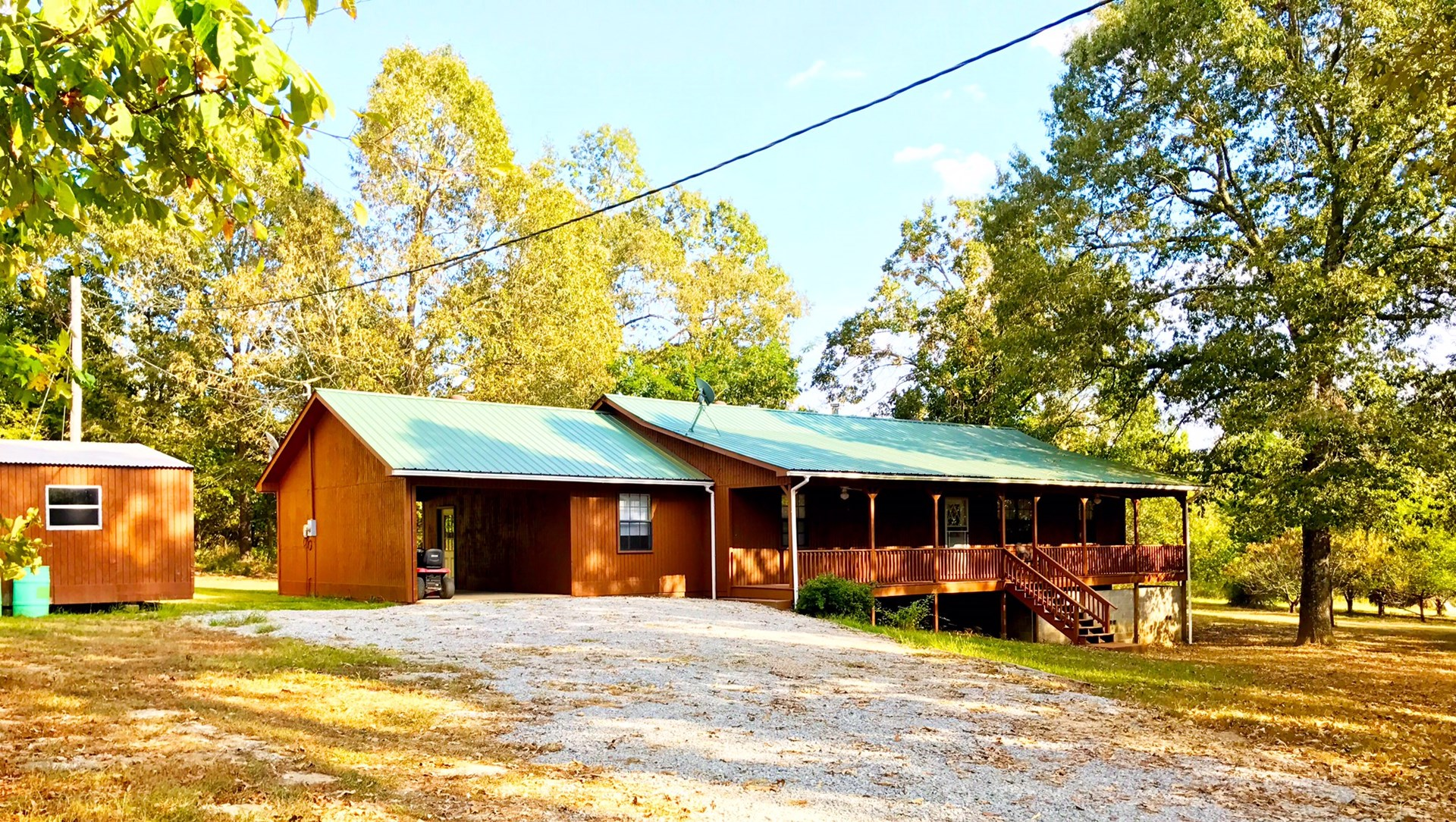 COUNTRY HOME FOR SALE ON ELEVEN POINT RIVER