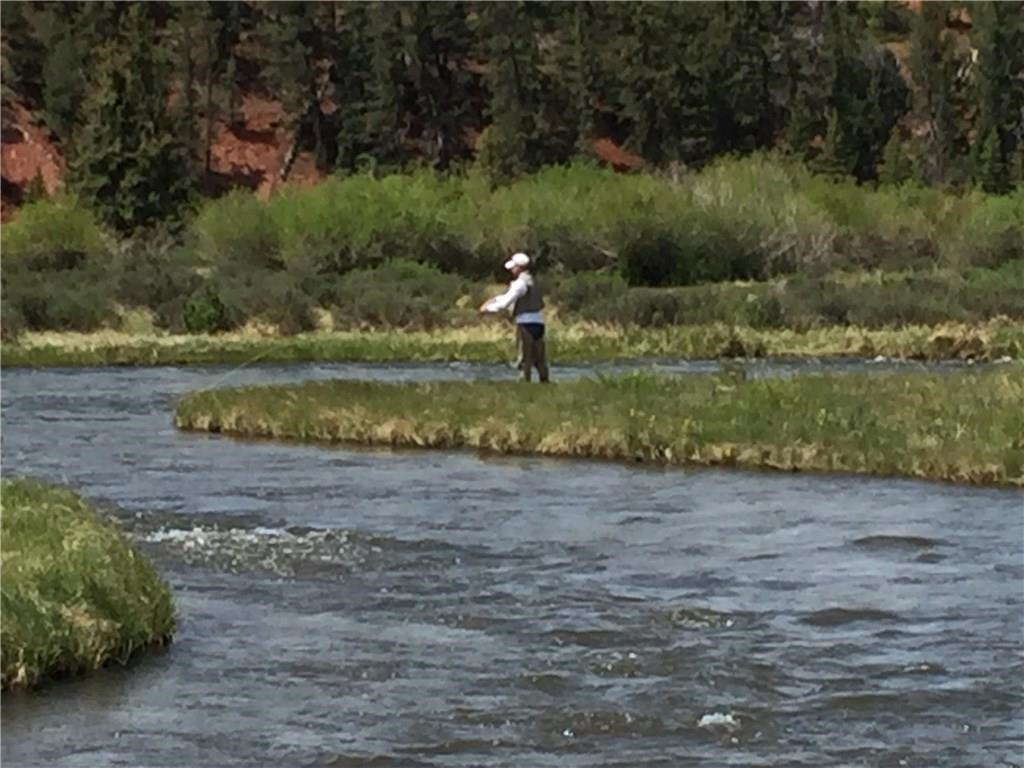 Fairplay Colorado Redhill Forest land with private fishing