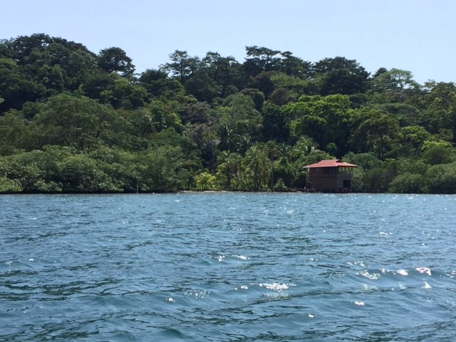 Coastal Oceanfront Lot on Solarte, Bocas del Toro Panama